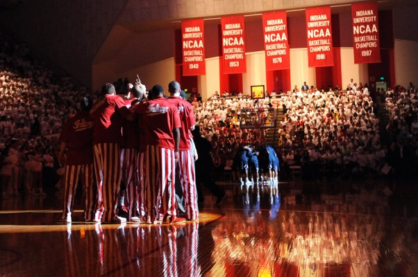 Indiana University is ranked number one in preseason polls for the upcoming NCAA basketball season. (Photo: IU Athletics)