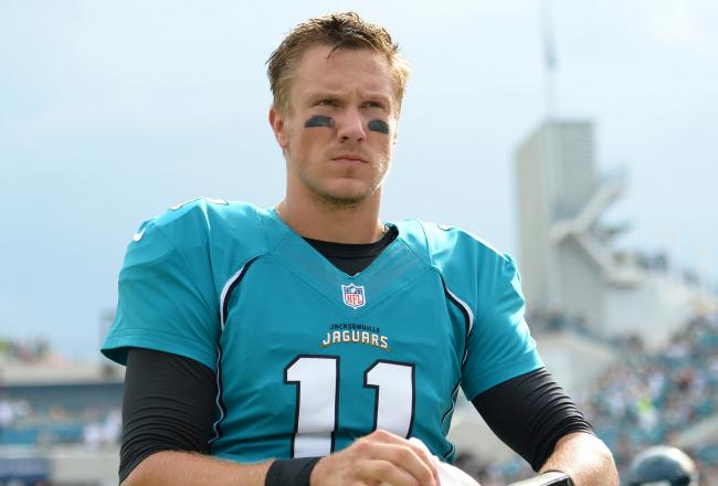 Gabbert has lead the Jaguars to a 1-8 record in his second season in the NFL.
