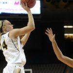 Iowa women overcome Hill, Buckeyes in OT