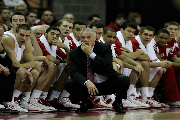 Bo Ryan looking on