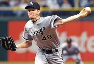 Chris Sale finished 2012 with a (Al Messerschmidt/Getty Images)