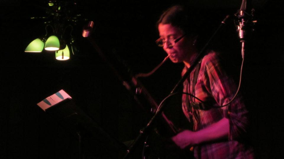 Gabi Vanek and bassoon at I Hear IC (The Mill, March 13, 2013)