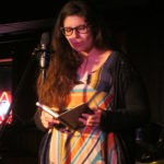 Jessica King reciting poetry at I Hear IC (The Mill, March 13, 2013)