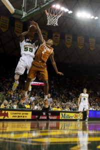 Baylor's Pierre Jackson against Texas. (Cooper Neill/Getty Images North America)