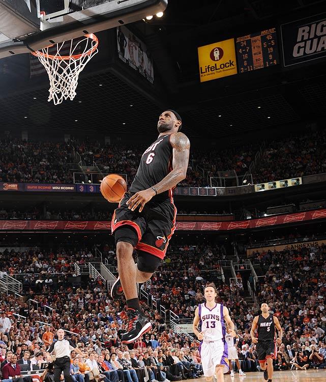 time MVP LeBron James ...