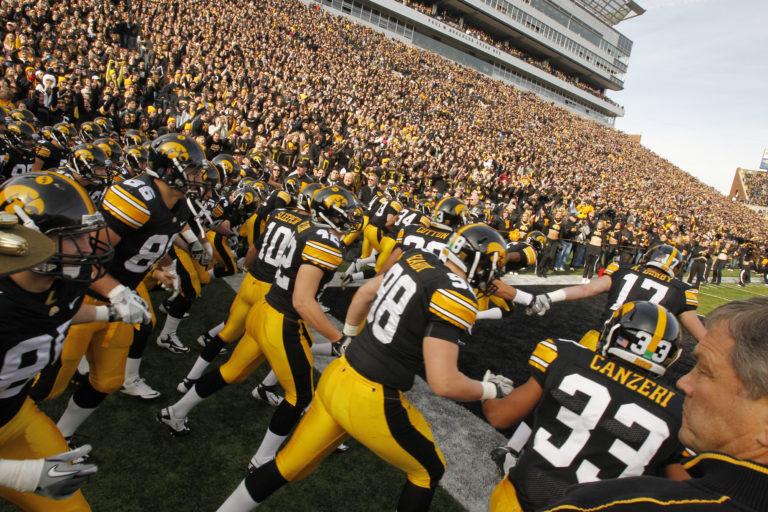 Michigan State at Iowa Football