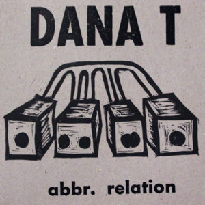 Dana T album cover