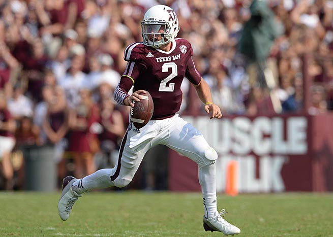 Can Manziel, last year's Heisman winner, make it 2 in a row? (Source: John W. McDonough, Sports Illustrated)