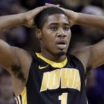 Basabe hits 1,000 point mark, Hawkeyes drub Wildcats