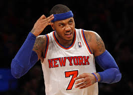Will Carmelo Anthony still be in New York come next season?
