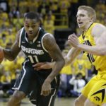 Hawkeyes lose OT thriller to Spartans