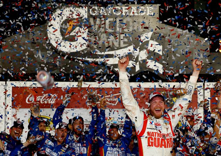 Dale Earnhardt Jr. Wins his Second Daytona 500