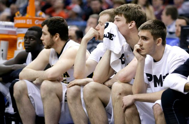 The look on the bench said it all for Iowa last after their loss to Northwestern.