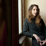 The author Rachel Kushner at her home in Los Angeles.