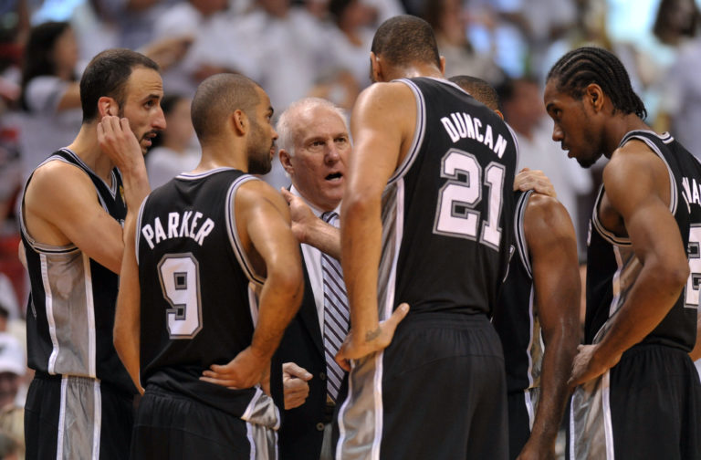 Spurs are poised for title #5 in the Gregg Popovich era. (Photo Credit: USA Today)
