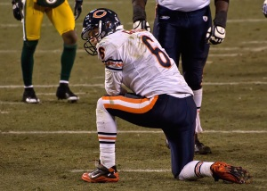 Jay Cutler has had this look too many times against the Packers.