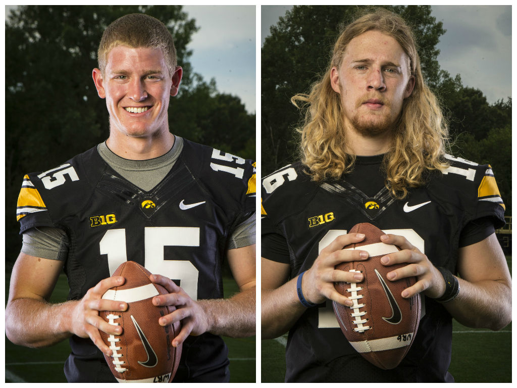 Rudock and Beathard Media Day Pitcures