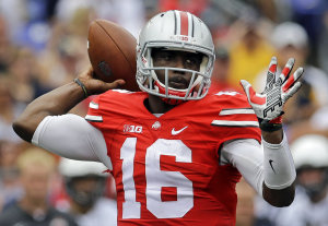 J.T. Barrett and the Ohio State offense have been unstoppable of late