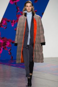 Here is Thakoon's take on a quilted weatherproof trench. (photo via: Indigital)