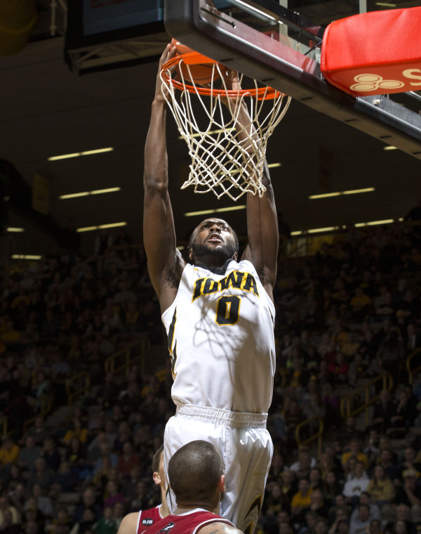The Iowa Hawkeyes defeated the Northern Illinois Huskies on an emotional night (Brian Ray/hawkeyesports.com)