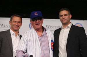 Joe Maddon has been added to the braintrust of Jed Hoyer and Theo Epstein in hopes of delivering the Cubs a World Series. (Photo: Brian Cassella/Chicago Tribune)