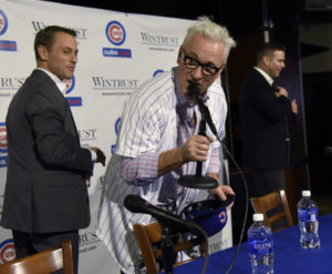 It did not take long for Joe Maddon to ingratiate himself with Cubs fans during his introductory press conference.