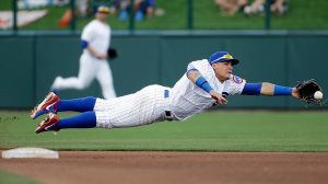 Javier Baez is just one of the prospects Cubs fans are hoping flourishes under Joe Maddon.(Photo: AP Photo/Morry Gash)