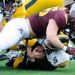 Offense Struggles for Consistency in Gopher Rout