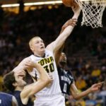 Aaron White sets free-throw record as Iowa defeats Nebraska