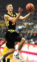 Uthoff has been a force of late for Iowa. (Source: Hawkeyesports.com)