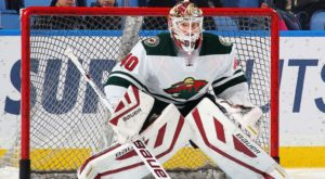 Devan Dubnyk is a big reason why the Wild are climbing up the standings in the Western Conference. (photo: www.sportsnet.ca)