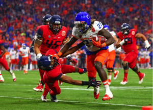 Boise State has notoriously put together strong seasons and has failed to jump into the National Championship picture.(Photo: Mark J. Rebilas/USA TODAY Sports)