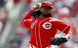 Johnny Cueto delivers a pitch. (Photo Credit: USATSI)