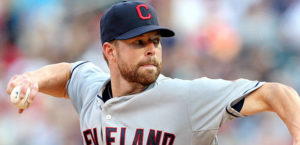 Corey Kluber is looking to build on his Cy Young campaign. (Photo:fox sports.com)