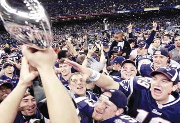 New England Patriots Super Bowl