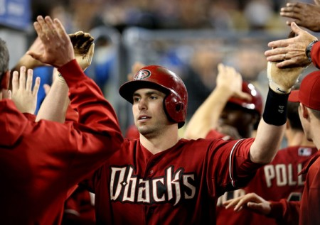 Paul Goldschmidt after a sacrifice fly. (Photo Credit: WildonSports.com)