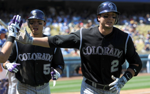 Trot Tulowitzki and Carlos Gonzalez. (Photo Credit: Jayne Kamin-Oncea-USA TODAY Sports)