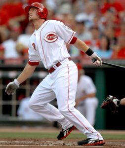 Zack Cozart watches the ball fly. (Photo Credit: The Enquirer/ Joseph Fuqua II)