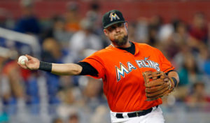San Francisco's new third baseman Casey McGehee. (Photo by Eliot J. Schechter/Getty Images)