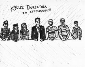 KRUI Directors In Attendance