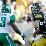 Beathard, Canzeri propel Iowa over Mean Green