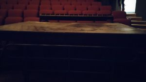 The mini-stage, post show