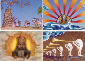 A sample of Gilliam's animation work for Monty Python (Photo via: VICE.com)