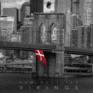 This is the cover art for the album Vikings.