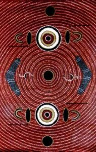 Dreamtime Painting by Norbett Lynch