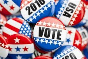 """Stars and stripes """"Vote"""""""