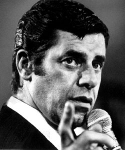 Jerry Lewis plays a fictional version of himself, named Jerry Langford