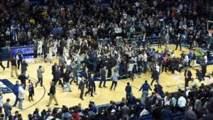 Penn State courtstorm
