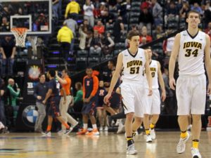 Iowa's frustration at the end of the season came to a boiling point at the Big Ten Tournament (Photo: www.hawkcentral.com).