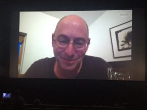 Jason Silverman via Skype at FilmScene screening of Sembene!